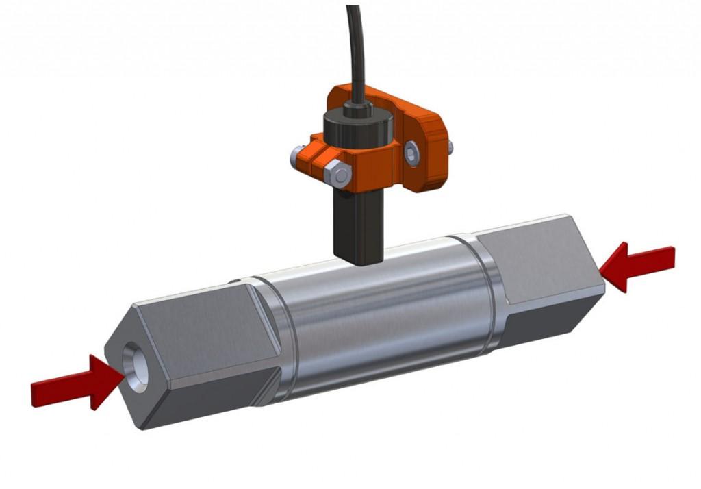 Axial load sensor